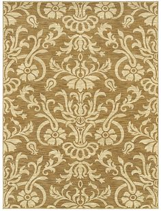 """Area Rug in style """"Venezia"""" color Gold - HGTV HOME Flooring by Shaw"""
