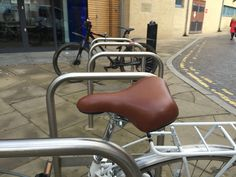 Seen outside YD. I think we need to get two leather seats to replace the black ones