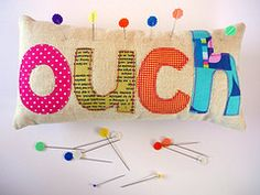 "I love making pin cushions...this one is really cute..definitely on my ""to do"" list!"