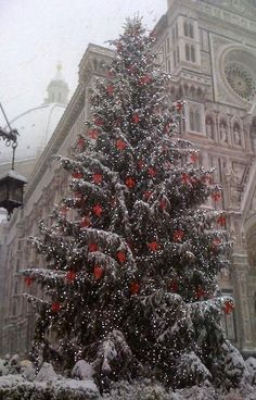 Christmas in Florence, Italy