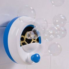 Summer Infant Tub Time Bubble Maker Portable bubble maker for bath time fun. Suction cup securely adheres bubble maker to the wall. 4 ounce bottle of tear free bubble solution included. Bubble Maker, Bubble Machine, Baby Tub, Baby Gadgets, Bubble Bath, Bubble Fun, Bath Toys, Everything Baby, Cool Baby Stuff