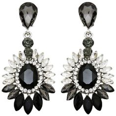 Givenchy Gothic Clip-On Chandelier Earrings (€830) ❤ liked on ...