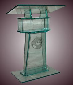 podium, pulpit, plexiglass, plexiglass pulpits, plexiglass podiums, acrylicpulpit, church furniture, transparent, communion table,