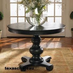 Round Foyer Tables kilimanjaro maracaibo round dining table | lexington home brands