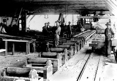 sawmills oregon images | Recent Photos The Commons Getty Collection Galleries World Map App ... Cottage Grove Oregon, Lumber Mill, Logging Equipment, Lumberjacks, Gold Mine, Old Wood, Historical Photos, Old Photos, American History