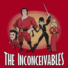 Now that's pretty clever:) Love me some Princess Bride/Incredibles crossover!