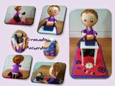 CREANDO RECUERDOS: Fofuchas Lunch Box, Jelly Beans, Souvenirs, Create, Bento Box