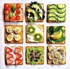 Pretty toasts