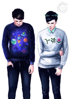 Spaceboy! Dan and Plantboy! Phil