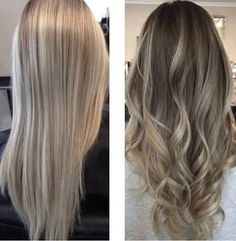 Resultado de imagem para black and ash blonde balayage