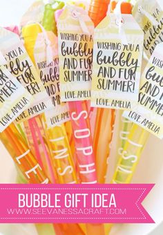 Imaginative Halloween Costumes - The Best Way To Be Artistic With A Budget End Of School Year Classmate Bubble Gift Idea With Free Printable Tags Teacher Gift Tags, Teacher Appreciation Gifts, School Gifts, Student Gifts, Kids Bubbles, Cheer Gifts, Diy Gifts, Free Printable Gift Tags, Bubble Wands