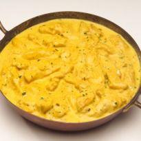 Murgh Methi Malai: Chicken curried in yoghurt and cream flavoured with kasoori methi.
