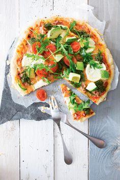 Mozzarella-rucolasalaattipizza, gluteeniton | K-ruoka #vappu