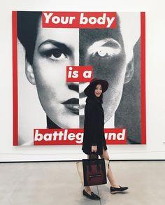 Michelle (@runwayonthego) Midweek museum run #broadmuseum #art #ootd #lotd #fashionblogger