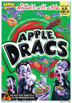Image result for serial killer costume cereal box