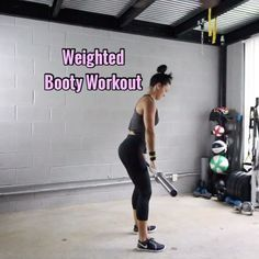"""11.3k Likes, 219 Comments - Carmen Morgan (@mytrainercarmen) on Instagram: """"Weighted Booty/Legs Workout I'm using a traditional squat bar (weighs 45lbs). Use what's right…"""""""