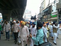 Ludhiana shut down: Massive support for Bandh call in support of Bapu Surat Singh - http://sikhsiyasat.net/2015/07/10/ludhiana-shut-down-massive-support-for-bandh-call-in-support-of-bapu-surat-singh/