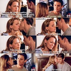 It was Chris Keller who actually kissed Haley at the ball Nathan Haley, Nathan Scott, One Tree Hill Quotes, One Tree Hill Wallpaper Quotes, Top Movies, Movies And Tv Shows, Nerd Show, Grey Anatomy Quotes, This Is Your Life
