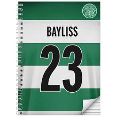 Personalised Celtic Notebook  from Personalised Gifts Shop - ONLY £9.99