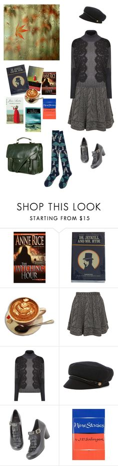 """""""Fall Reading"""" by jenhowell ❤ liked on Polyvore featuring Opening Ceremony, Dolce&Gabbana and Eugenia Kim"""
