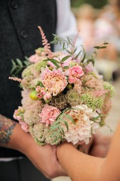 Moutain Flower Wedding Bouquet