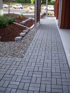 Pavers for Outdoor Patio . Pavers for Outdoor Patio . Patio Of Inexpensive Concrete Pavers … Outdoor Patio Pavers, Paver Walkway, Outdoor Stone, Driveway Pavers, Patio Stone, Stone Driveway, Front Walkway, Patio Images, Backyard Landscape Design