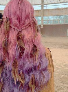 Coloured Hair, Pastel Hair, Aesthetic Hair, Dead Skin, Ropes, Hair Inspo, Dyed Hair, Weave, Hair Makeup