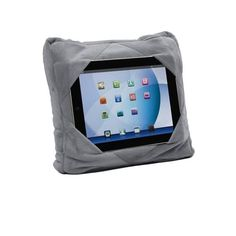 3-in-1 Multifunctional Travel Pillow and Tablet Holder - Assorted Colo - eFizzle