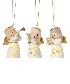 Look what I found on #zulily! Angel Musicians LED Ornament - Set of Three #zulilyfinds