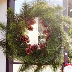Holiday wreath at #LucysMarket in Atlanta, GA!