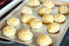 Easy Homemade Drop Biscuits- made this with dinner... soooo yummy :)