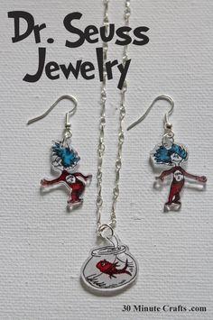 Dr Seuss Jewelry
