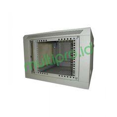 19″ Wallmount Rack 6U depth 500mm Single Door, W06-500-SG/SB-PACKET