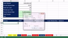 Highline Excel 2013 Class Video 50: Financial Functions: PMT, RATE, NPER... #MSExcel