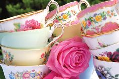 Gallery of Vintage Crockery & Accessories for hire in Kent & Sussex