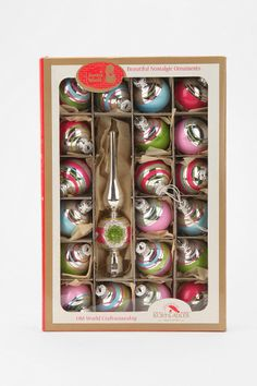 Retro ornaments Kurt Adler