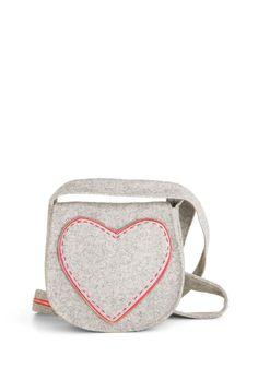 Felt So Right Bag - Grey, Pink, Solid, Exposed zipper, Casual, Vintage Inspired, Handmade & DIY