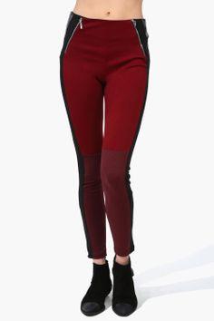 Red Back Leggings