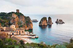 Scopello, en la isla de Sicilia.