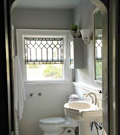 Home Decoration Ideas Interior Design .Home Decoration Ideas Interior Design Safety And Security, Victorian Style Decor, Victorian Style Bathroom, Victorian Fashion, Transom Windows, Leadlight Windows, Design Blog, Design Ideas, Bathroom Sets