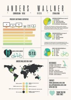 Infographic Resume World Traveler by TheDaydreamerDesigns on Etsy, $95.00