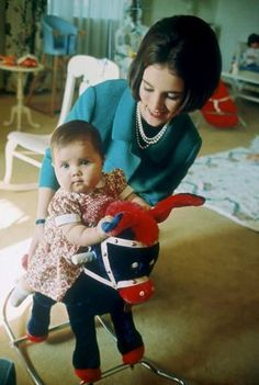 scontent:  Queen Anne-Marie with young Alexia, 1966
