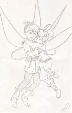 Tinkerbell  Terence: What Are Friends For Artwork by Slinkygirl006