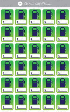 gas-pump-stickers-for-your-planner
