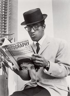 Sammy Davis Jr, circa 1950s. By the way, he was an accomplished photographer himself.
