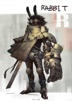 Beautiful Science Fiction, Fantasy and Horror art from all over the world. Character Creation, Game Character, Character Concept, Concept Art, Space Opera, Chibi, M Anime, Sci Fi Characters, Character Design References