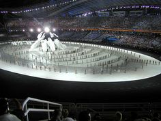 Olympic Games - Opening Ceremony, Athens 2004 by dtsiabai, via Flickr Attica Greece, Learn Greek, Fantastic Show, Asian Games, Greek Music, Commonwealth Games, Winter Games, Summer Olympics, Opening Ceremony