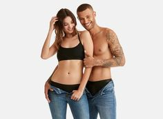 Matching undies for you and yours Girls Wearing Bikinis, Most Comfortable Underwear, We Wear, How To Wear, Better Half, Sweet Couple, Friends Forever, Boyfriend Gifts, Fit Women