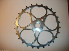 Schwinn Bicycle 26T Sweetheart Skip Tooth Sprocket Pre Post War Aero Cycle Plane | eBay  I think i need to build a clock with one of these.