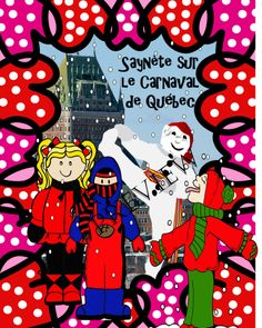 This is an 11 page skit about Bonhomme and the Carnaval de Québec EN FRANÇAIS (IN FRENCH) of a family's trip to the Quebec Winter Carnival in Febr. Drama Activities, Teaching Activities, French Teacher, Teaching French, Quebec Winter Carnival, Mardi Gras, French Language Learning, Language Arts, Language Immersion